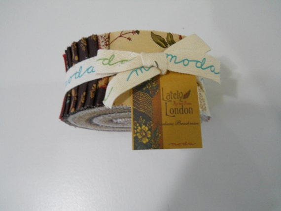 Lately Arrived From London Jelly Roll by Barbara Brackman for Moda SaLe PriCe