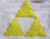 Legend of Zelda Triforce Baby Bib Made to Order