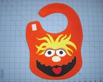 Murray Sesame Street Monster Baby Bib