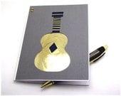 "Blank card ""Guitar"" - iris folding technique"