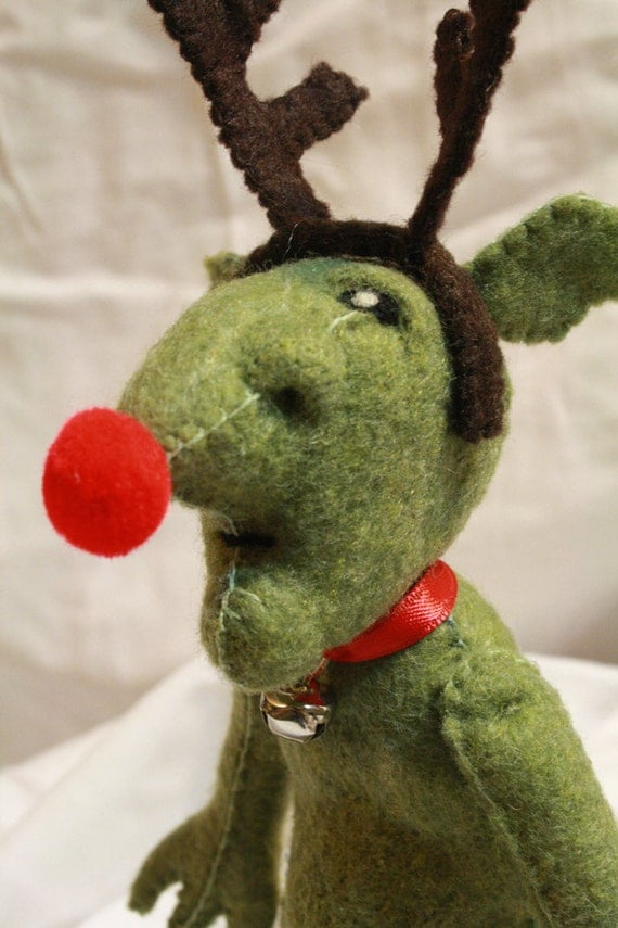 Christmas goblin plush