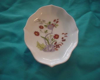 Rutter Porzellan Germany Small Dish has Floral Design