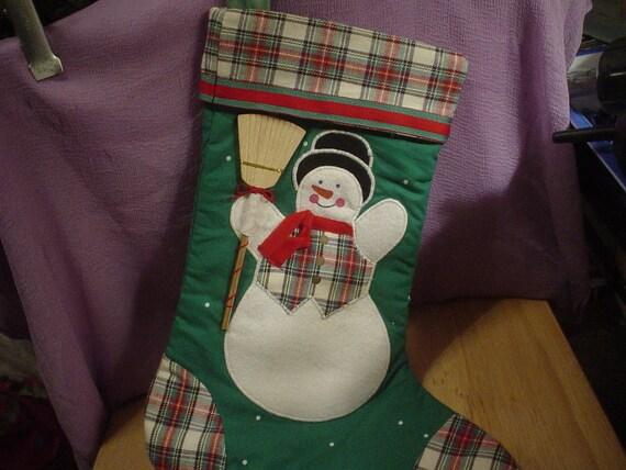 Vintage Avon Christmas Stocking  SALE Was 6.00 Now 4.00