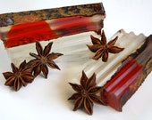 SALE Autumn Harvest glycerin soap, fall, cinnamon, apple cider, warm, cozy, clove, orange, perfect gift, for her him, hostess gift