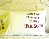 Personalized Pillow Case Back to School Dorm Gift