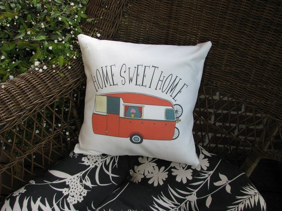 Personalized porch pillow