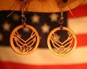 Air Force Earrings