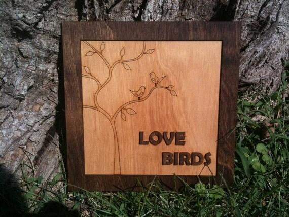 Love Birds - Wall Art