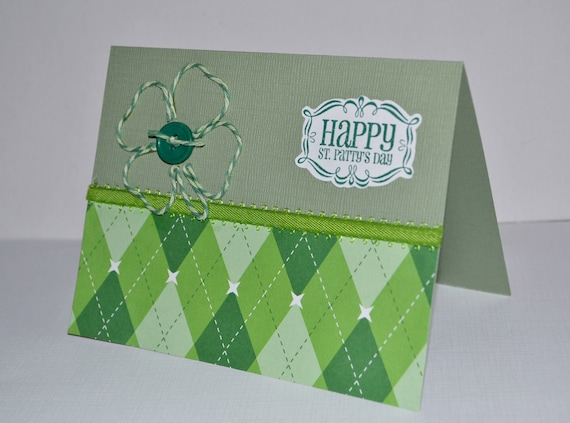 St. Patrick's Day Greeting Card, Blank