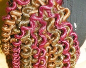 Cherry Cordial Curled Dread Falls
