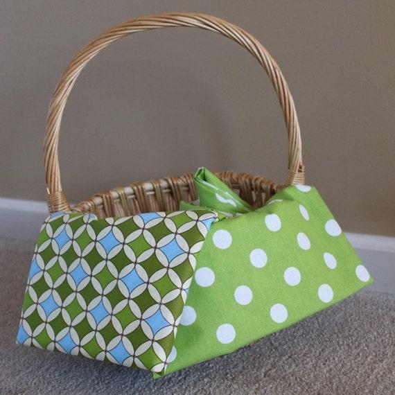 Personalized Monogrammed Easter Basket Liner More Patterns