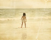 """Special Listing for Yvette Vintage Inspired """"Little Surfer Girl"""" Print"""