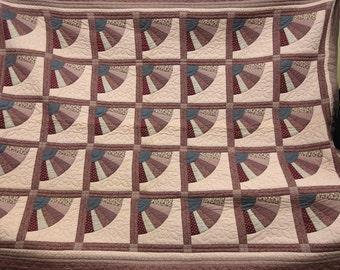 Vintage Gorgeous Handmade Large Quilt