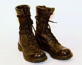 Black Corcoran Army Boots Lady's 8