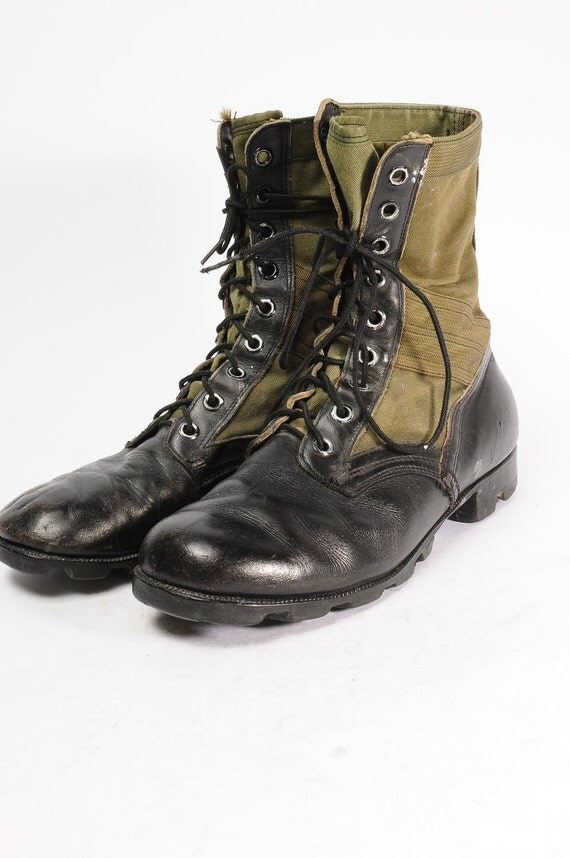 Vietnam Size 9w Original 1960s Jungle Boots