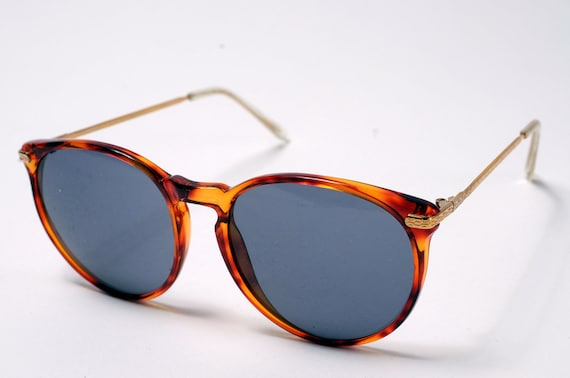 O'Malley Round Sunglasses Tortoise and Gold (Johnny)