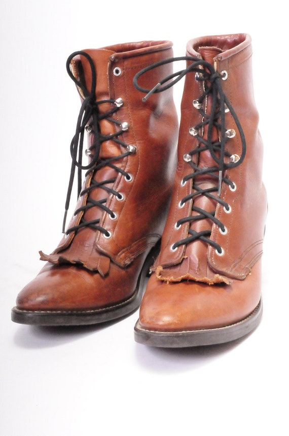 Laredo Size 7 Woman's Roper Boot
