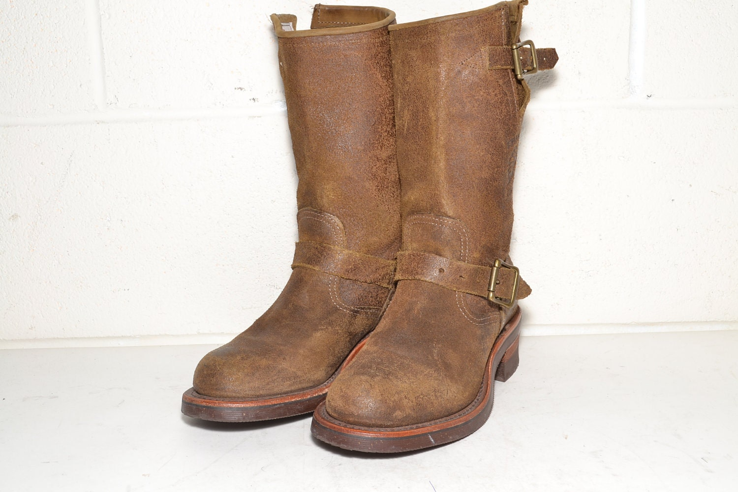 chippewa motorcycle boots size 6