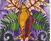 Divine Goddess - Notecard