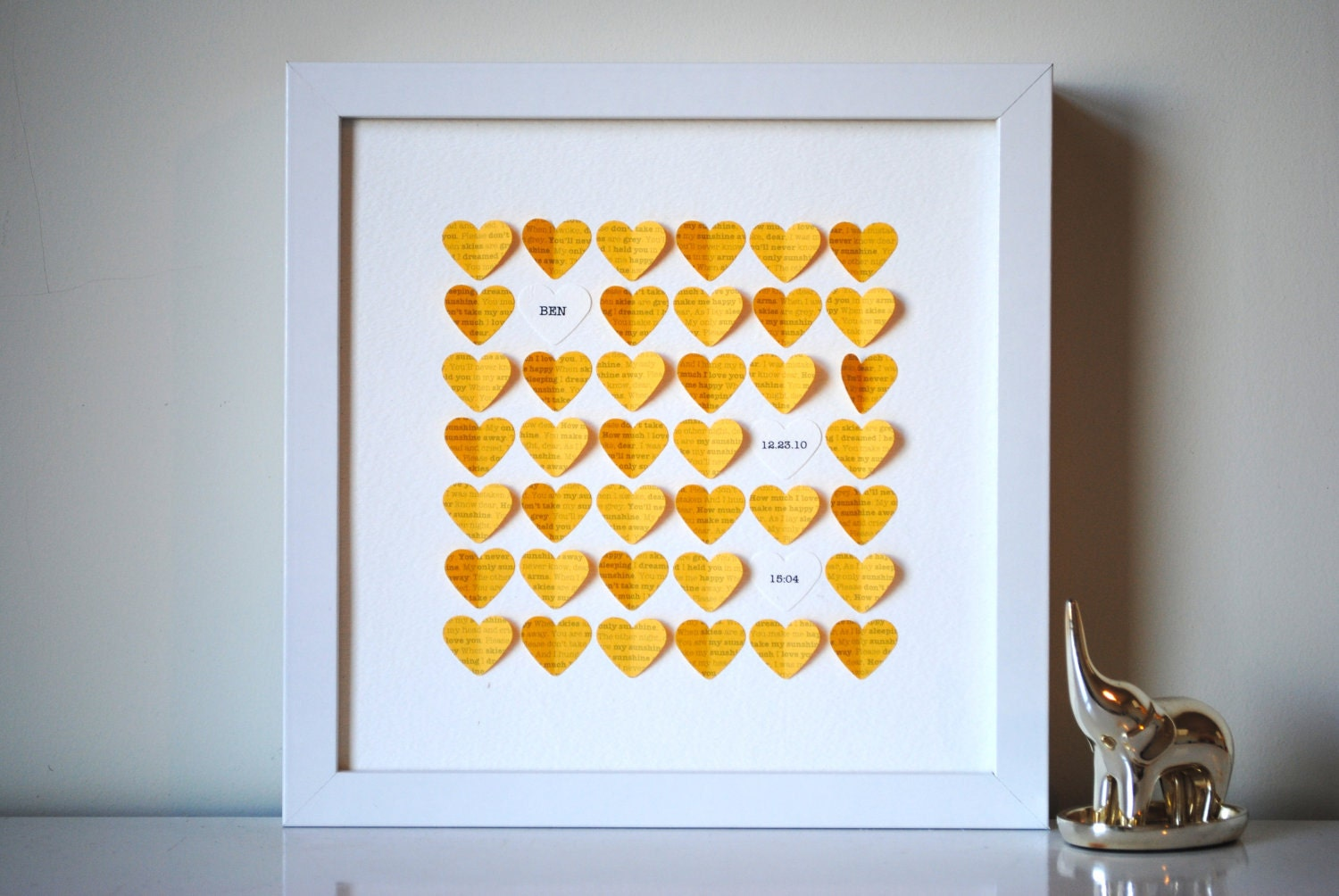 My First Room Toddler 3 Piece Room In A Box: Baby Gift Personalized Framed 3D You Are My Sunshine Song