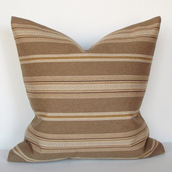 Throw Pillow Cover Southwest Stripe 16x16 by couchdwellers