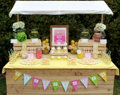 printable lemonade stand party package