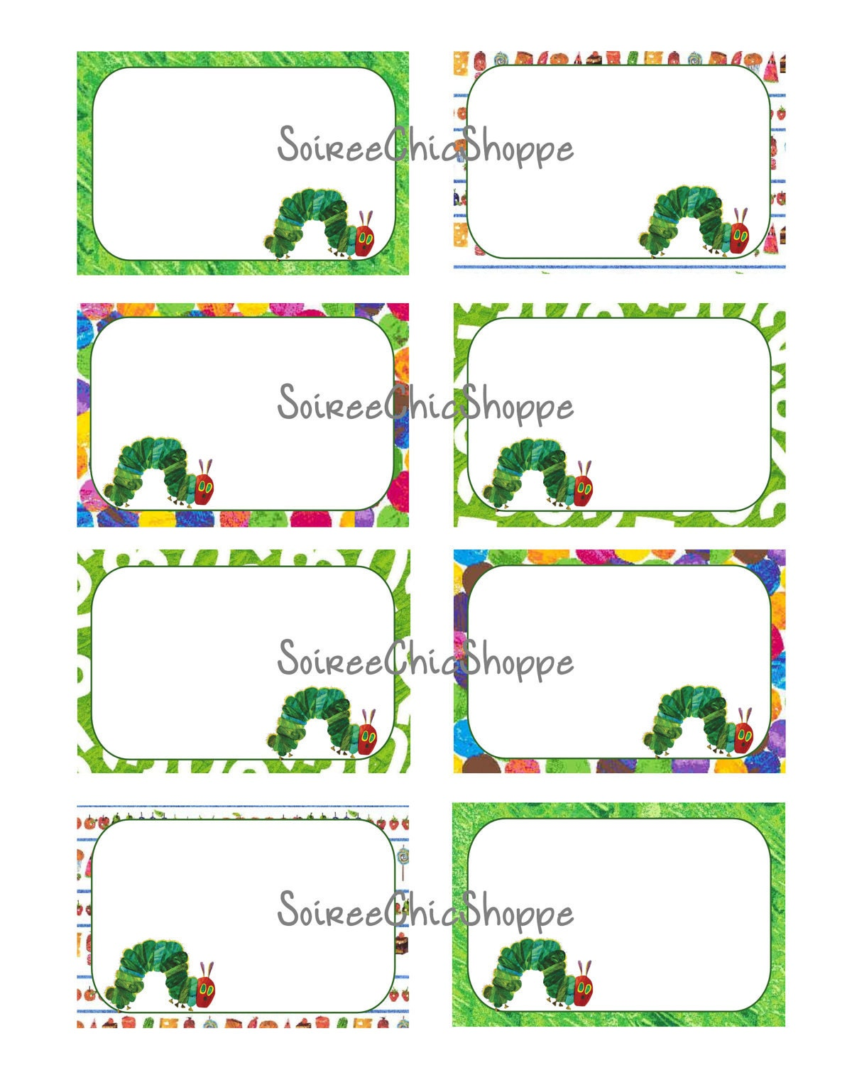 It's just an image of Clean The Very Hungry Caterpillar Printable