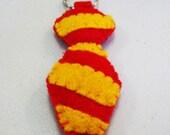 Gryffindor Tie Felt Key Chain