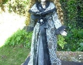 """17"""" Dress and Lace Coat For Evangeline Ghastly"""