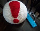 Animal Crossing Pitfall pillow