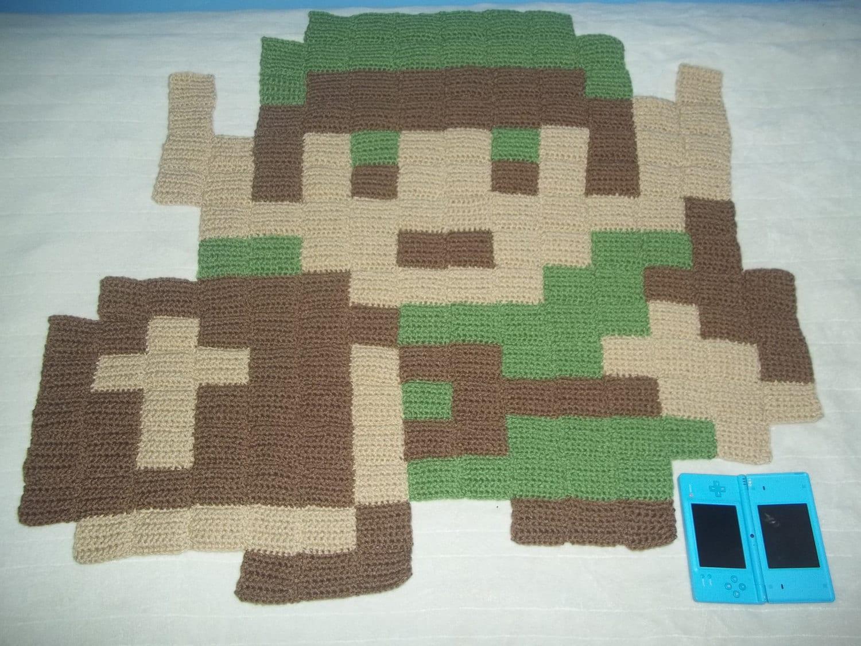 Big 8 bit link rug Controller rug