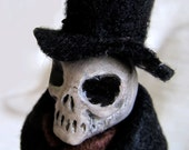 OOAK - Goth - Art doll - Dapper Death