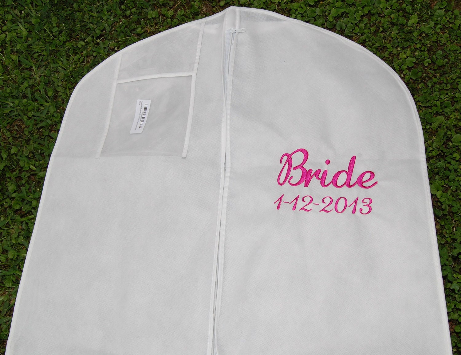 personalized xl extra large bridal gown wedding dress bag Gown Dress Garment Bag FREE SHIPPING zoom