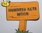 Hundred Acre Wood Winnie the Pooh Die Cut