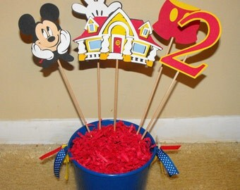 Mickey Mouse Customized Centerpiece