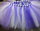 Sugar Plum Fairy Girls' Tutu in Bright Violet and Soft Lavender