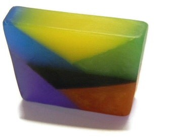 Pikasso Soap, Father's Day, gifts for dad, art soap, geometric