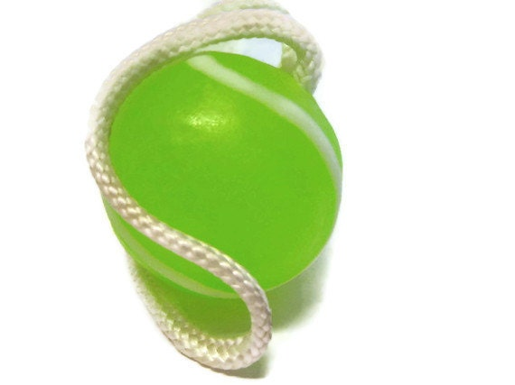 Tennis Ball Soap on a Rope, sports, Father's Day, Mother's Day, Gifts for mom, Gifts for dad, French Open