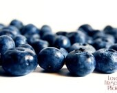 Fine Art Food Photography Print - Sweet Summer Blueberries