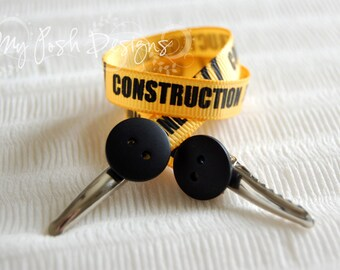 On-the-Go Bib Clip / Nursing Cover Clips Construction Tape