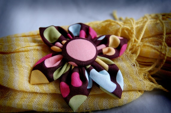 Fabric Flowers Patterns Tutorials Digital Download PDF  -- Make Your Own