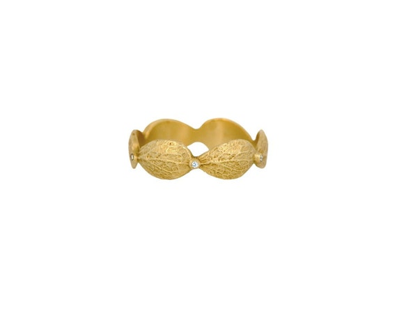 Leaf Diamond Ring- 116R