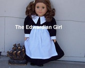 Pilgrim doll dress