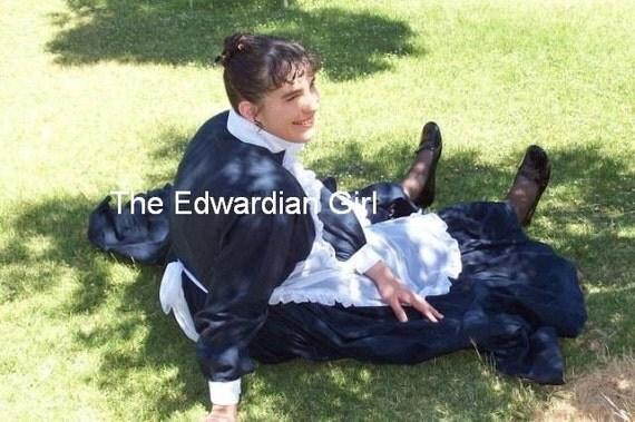 Custom made Edwardian servant dress
