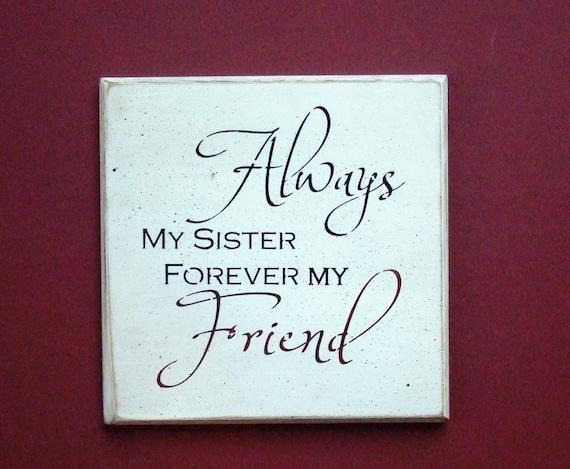 Sister forever