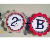 Personalized Happy Birthday Banner -Lil Slugger -Birthday Banner -Baby Shower -Baseball Banner -Sports Banner