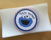 NEW...Cookie Monster Inspired Collection: Envelope Seals