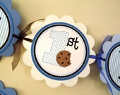Cookie Monster Inspired Collection: Happy Birthday Banner