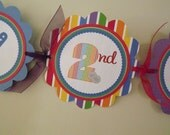 New...Gumball Collection: Happy Birthday Banner