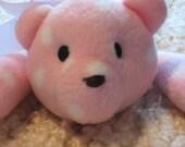 Little Pink and White Polka Dot Bear